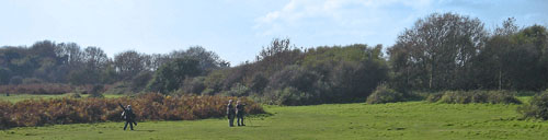 Picture of Twitchers on Thorpeness Common